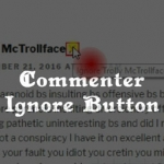 Commenter Ignore Button