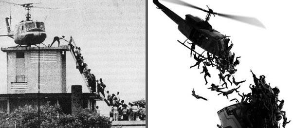 Fall of Saigon, WWZ poster detail