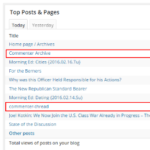 "Who or What Is Using ""Commenter Archive"" and ""commenter-thread""?"